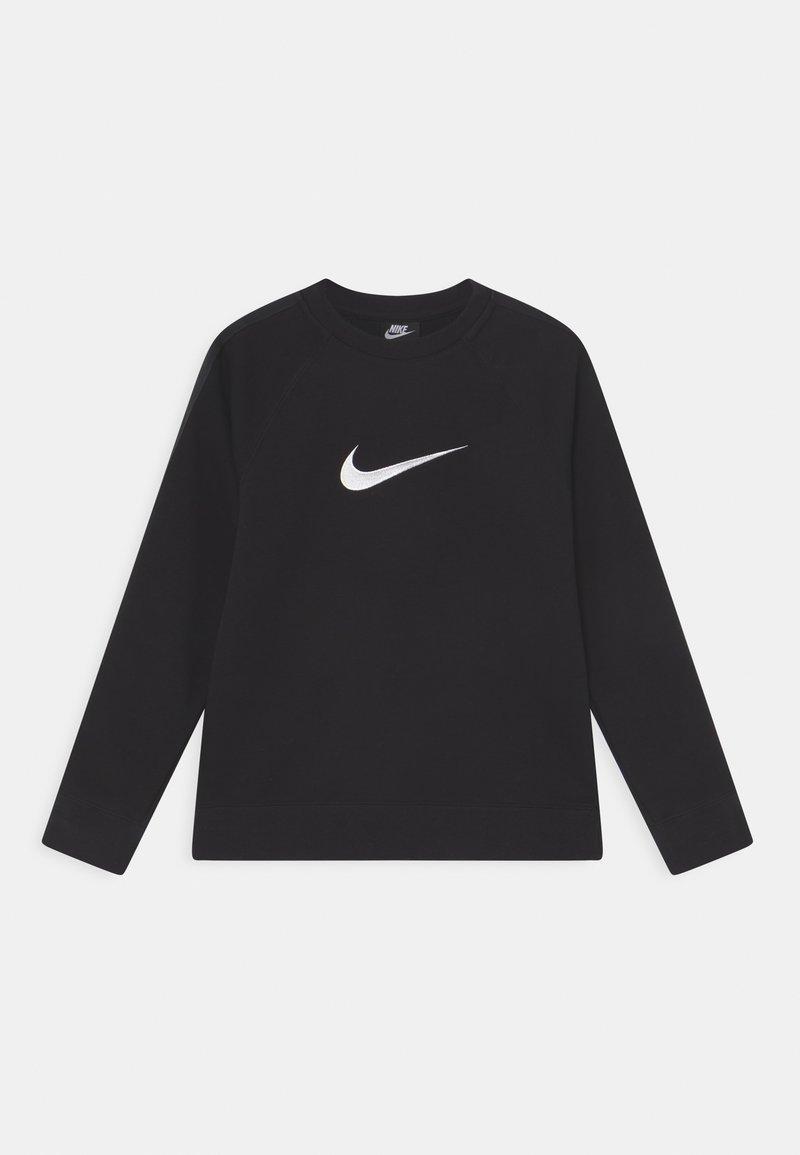 Nike Sportswear - CREW - Sweatshirts - black/white