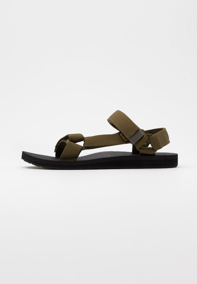 ORIGINAL UNIVERSAL MENS - Walking sandals - dark olive