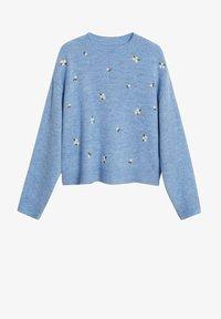 Mango - MARGARIT - Sweter - bleu ciel - 6