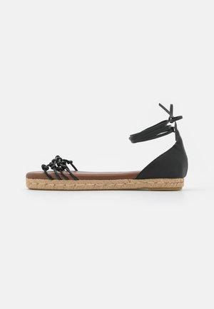WANDERER - Sandals - black