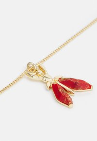 Patrizia Pepe - COLLANA PRECIOUS FLY MINI - Ketting - marble red - 2