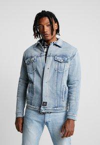 Sixth June - REVERSIBLE JACKET - Denim jacket - blue/beige - 0