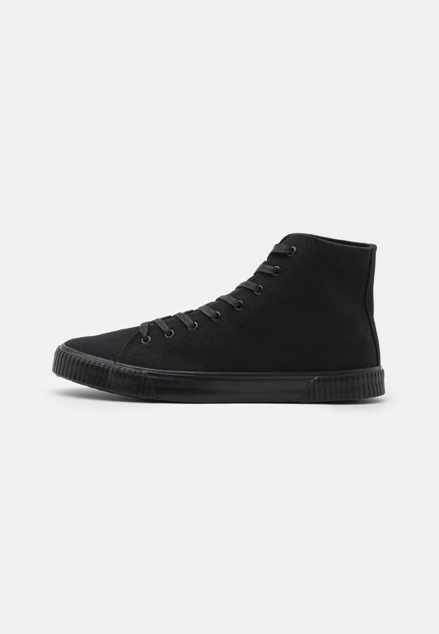 UNISEX - Höga sneakers - black