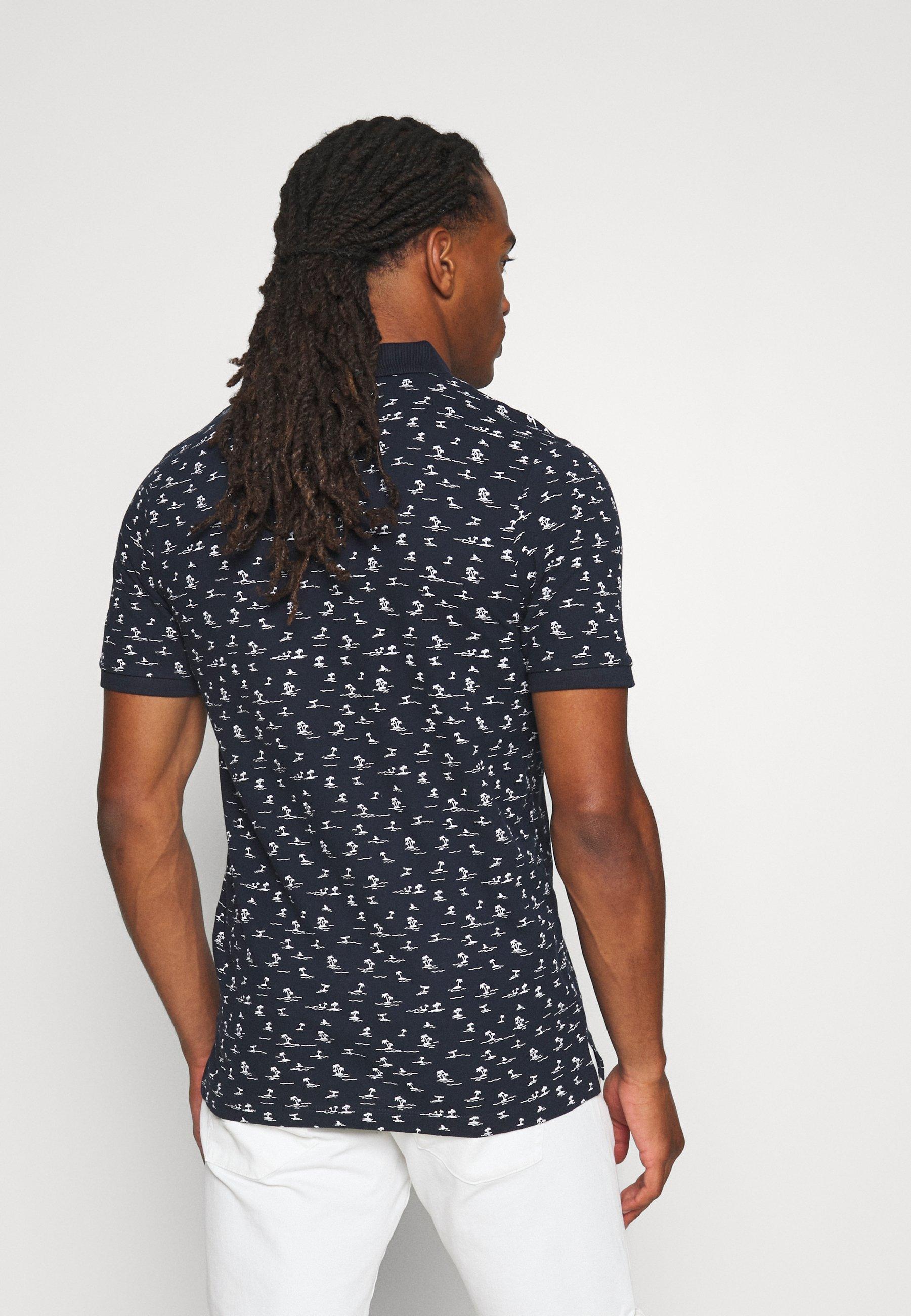 Jack & Jones JORPEDRO - Polo shirt - navy blazer 8OMj4