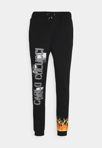 Carlo Colucci - FLAME UNISEX - Tracksuit bottoms - black - 0