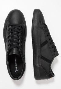Lacoste - SIDELINE - Sneakers basse - black/gold - 1