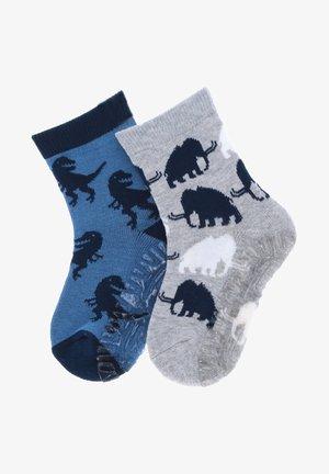 2 PACK - Socks - hellgrau melange