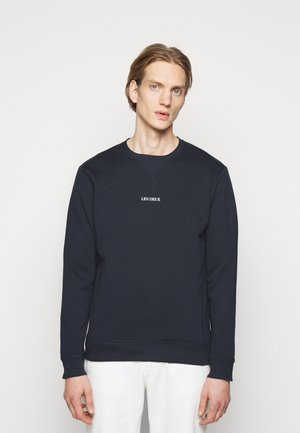 LENS - Sweatshirt - dark navy/white