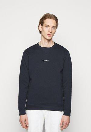 LENS - Sweater - dark navy/white