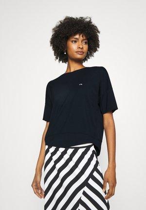 ATHLEISURE - Print T-shirt - navy