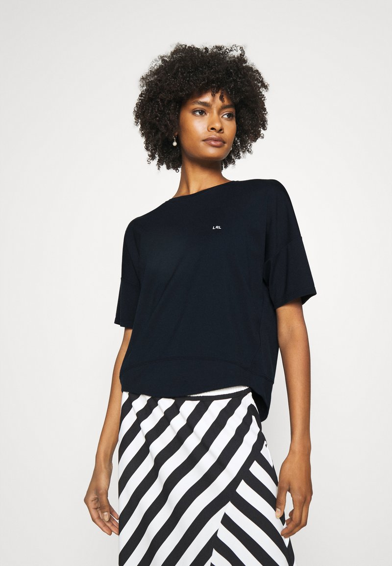 Lauren Ralph Lauren - ATHLEISURE - Print T-shirt - navy