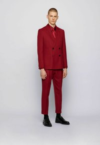 BOSS - CAYMEN - Suit jacket - dark red - 1
