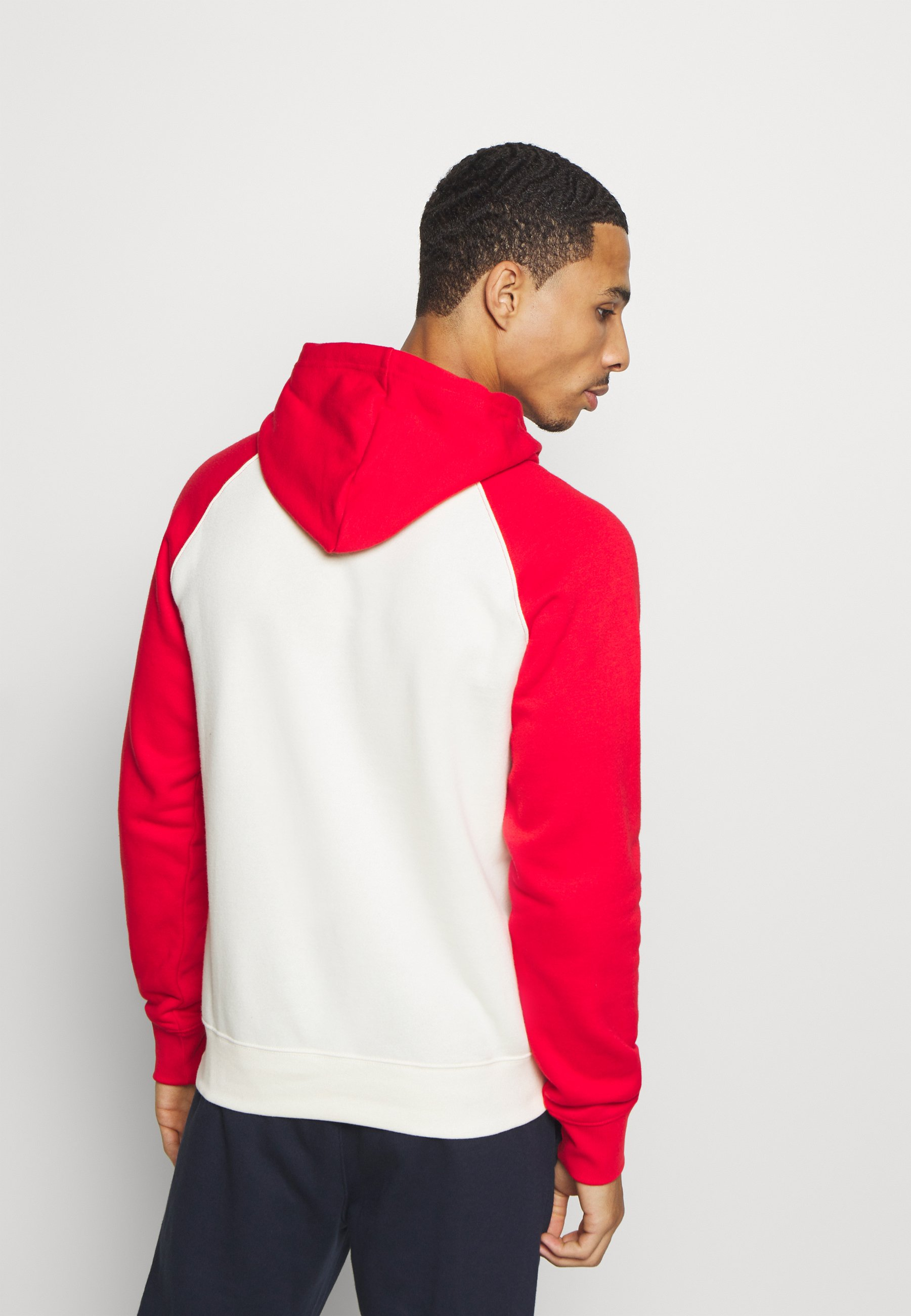 Champion LEGACY CREAM&COLOR - Hoodie - off-white/red  Heren Truien & vesten CASAT