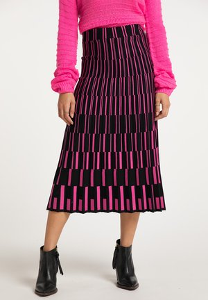 A-lijn rok - schwarz pink