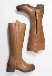 Anna Field - LEATHER WINTER BOOTS - Śniegowce - cognac - 3