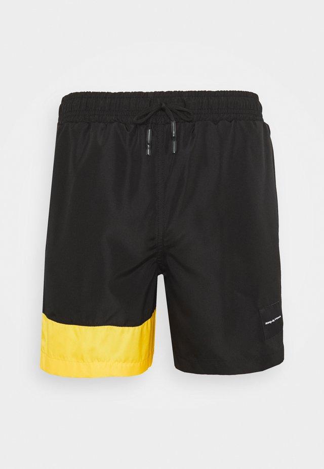 UNISEX - Swimming shorts - black