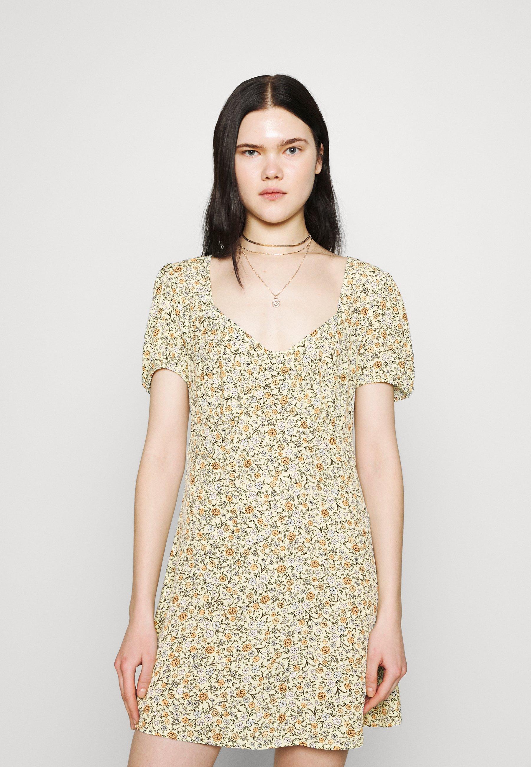 Women ESSENTIAL TIE BACK MINI TEA DRESS - Day dress