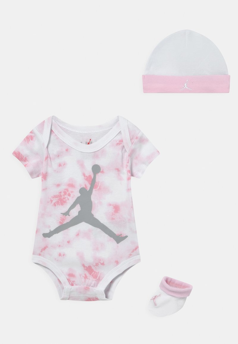 Jordan - TYE DYE SET UNISEX - Print T-shirt - pink foam
