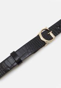 Guess - CORILY ADJUSTABLE PANT BELT - Pásek - black - 2