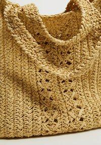Violeta by Mango - NADINE - Shoppingveske - beige - 3