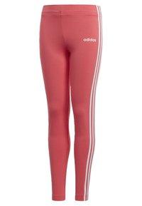 adidas Performance - ESSENTIALS 3-STRIPES LEGGINGS - Leggings - pink - 2