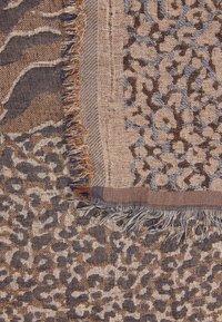 Becksöndergaard - MIXANI COLUR SCARF - Šátek - brownish - 2