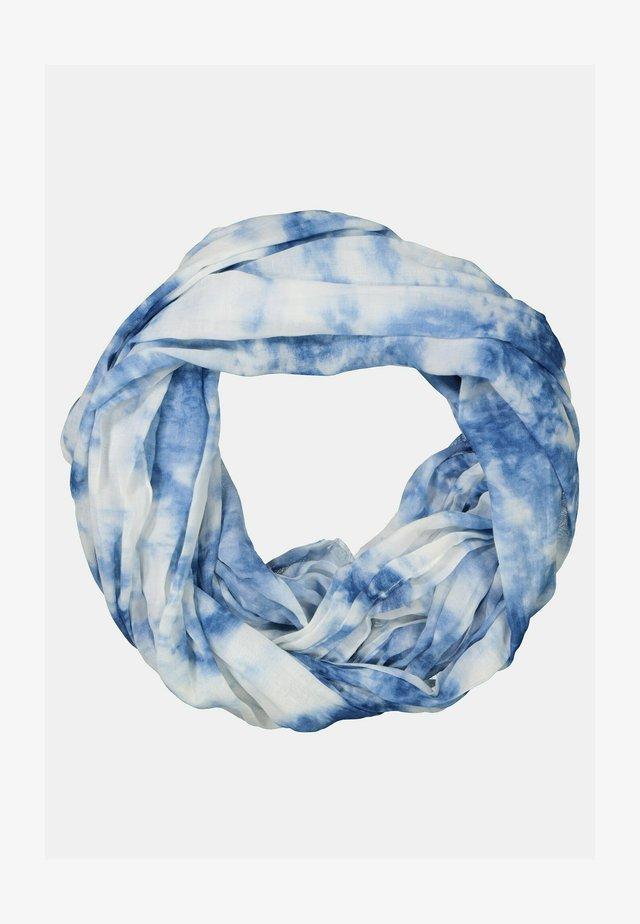 BATIKMUSTER, LUFTIG-LEICHT - Sjaal - kristallblau