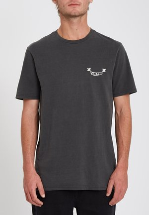 GASP HIGH SS TEE - Print T-shirt - black