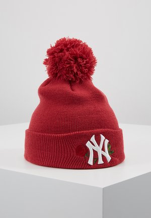 KIDS BOBBLE NEW YORK  - Čepice - red