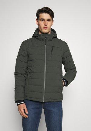 Winter jacket - grünanthrazit