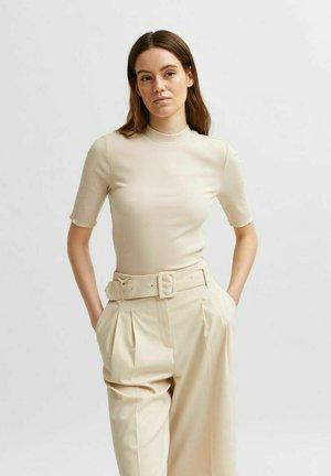 SLFANNA TEE - T-shirt basique - sandshell
