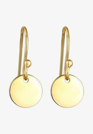 GEO MINIMAL LOOK - Oorbellen - gold-coloured