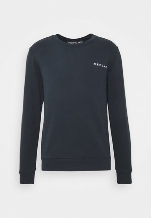 CREW NECK - Sweatshirt - blue