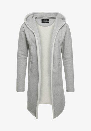 BREKSTAD - Zip-up sweatshirt - light grey mix