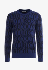 Versace Jeans Couture - MAGLIERIA - Jumper - blue - 3