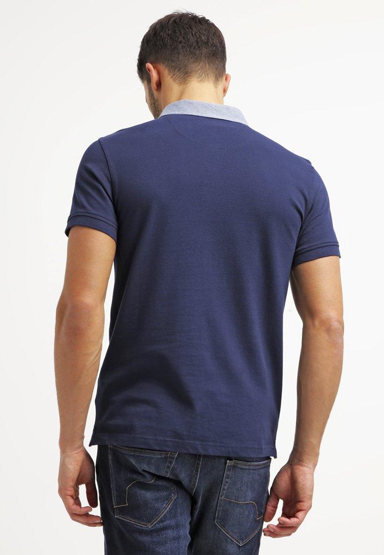 Pier One Poloskjorter - Dark Blue/mørkeblå