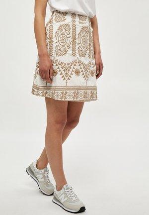 SANNY  - Mini skirt - white