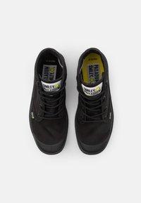 Palladium - PAMPA HI BE KIND UNISEX - Lace-up ankle boots - black - 3