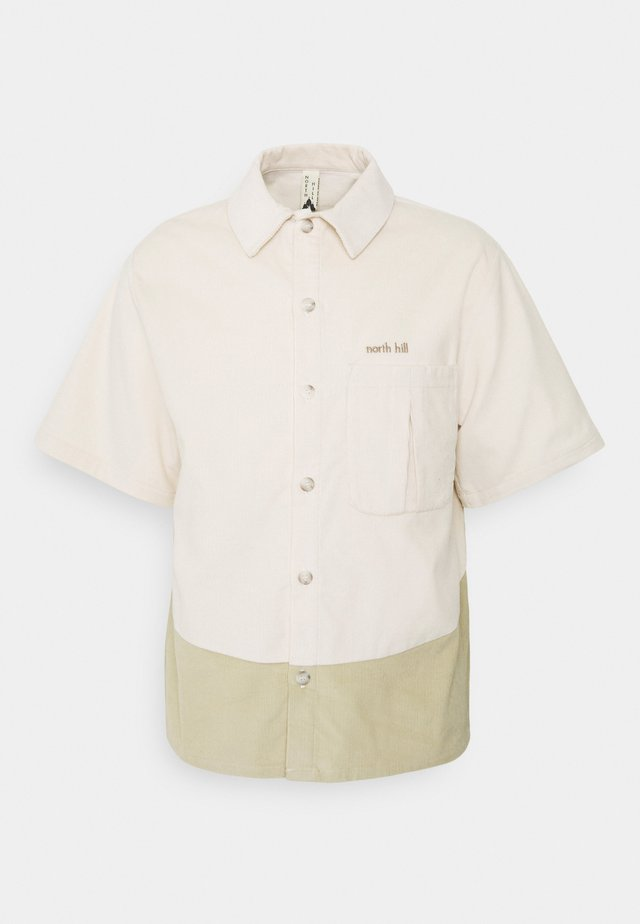 SHORT SLEEVE SHIRT - Skjorte - off-white