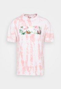 DAYBREAK WASHED TEE - Print T-shirt - pink