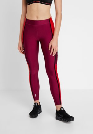 ONPJASLYN TRAINING - Leggings - beet red/flame scarlet