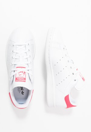 STAN SMITH - Sneakersy niskie - footwear white/real pink