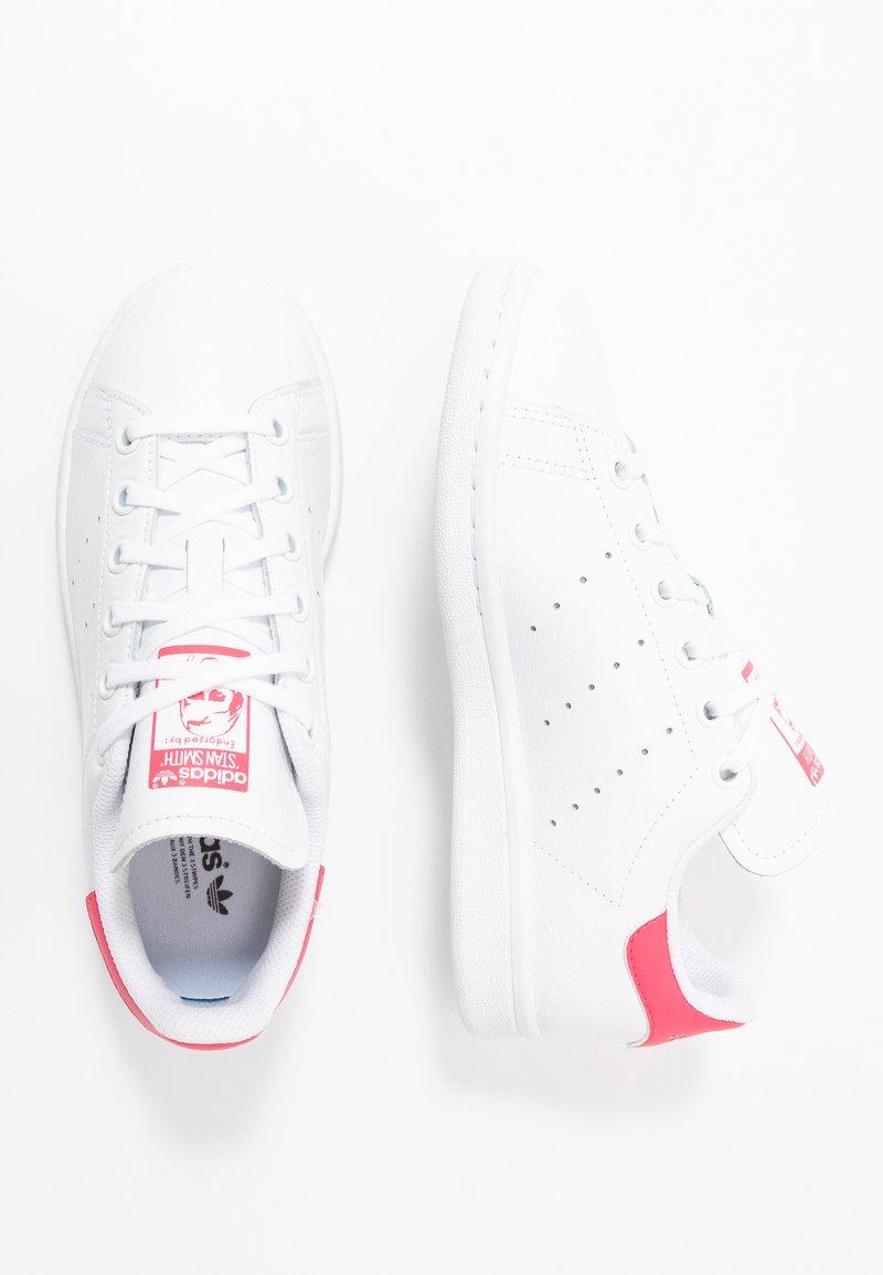 adidas Originals - STAN SMITH - Zapatillas - footwear white/real pink