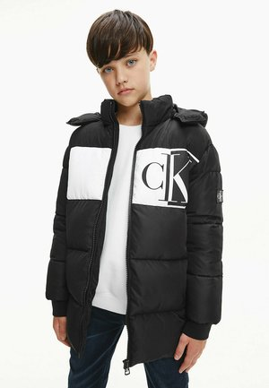 BLOCK MONOGRAM  - Winter coat - black
