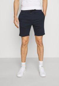 Pier One - 2 PACK - Shorts - khaki/dark blue - 3
