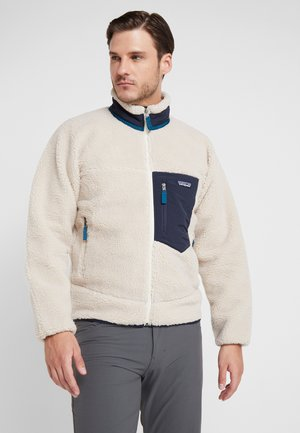CLASSIC RETRO - Fleece jacket - natural