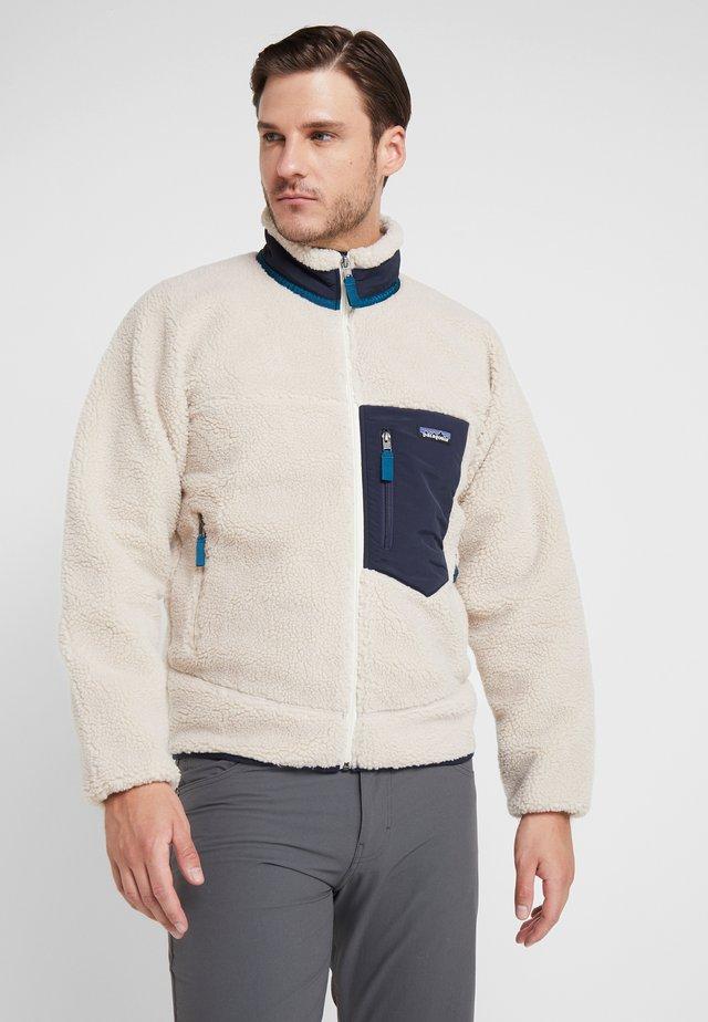 CLASSIC RETRO - Fleece jacket - natural
