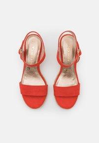 Tamaris - Wedge sandals - flame - 5