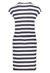Betty Barclay - Robe en jersey - dunkelblau/weiß - 3