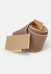 PARFOIS - Waist belt - light gold - 3